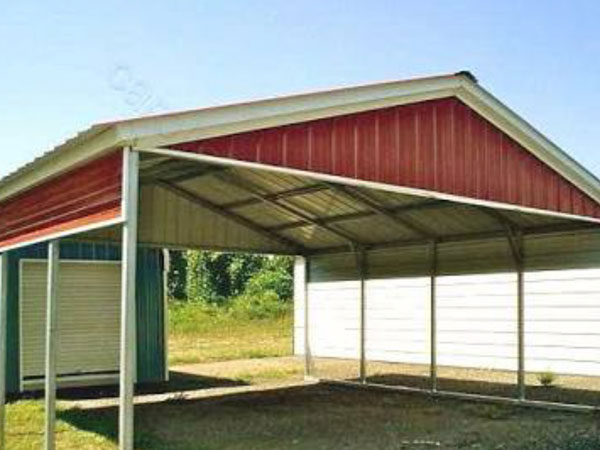 Powder Coated Metal Shed